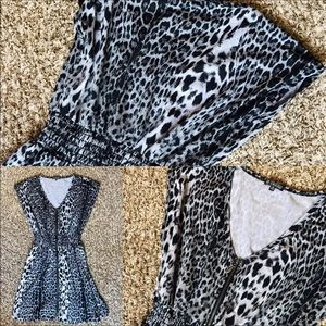 Be Bop Cheetah Print Dress. Like NEW!
